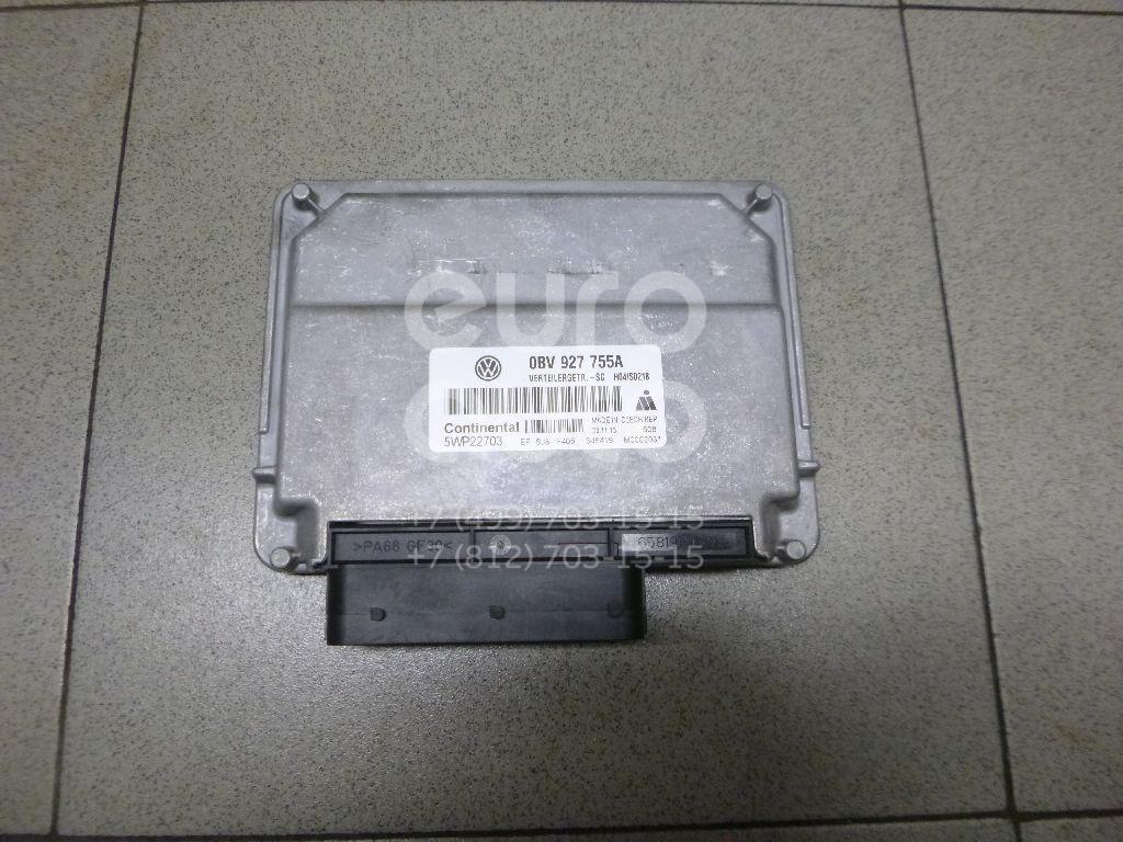 Купить Блок электронный VW Touareg 2010-; (0BV927755A)