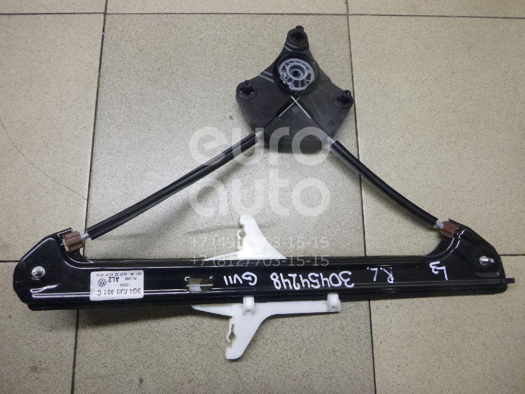 Купить Стеклоподъемник электр. задний левый VW Golf VII 2012-; (5G4839461C)