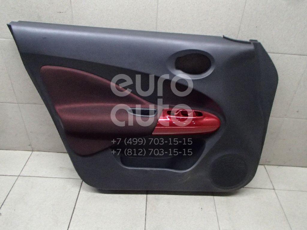 Обшивка двери передней левой Nissan Juke (F15) 2011-; (809011KB0A)  - купить со скидкой