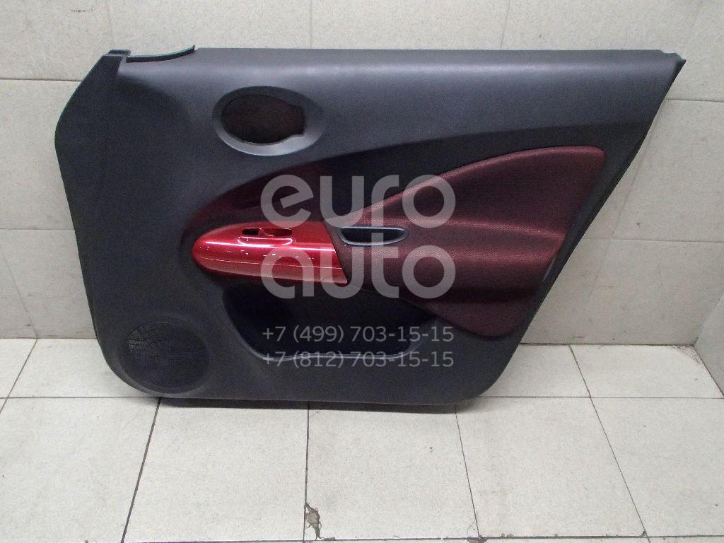 Купить Обшивка двери передней правой Nissan Juke (F15) 2011-; (809001KB0A)