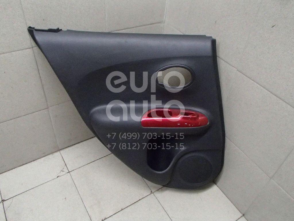 Купить Обшивка двери задней левой Nissan Juke (F15) 2011-; (829011KB0A)