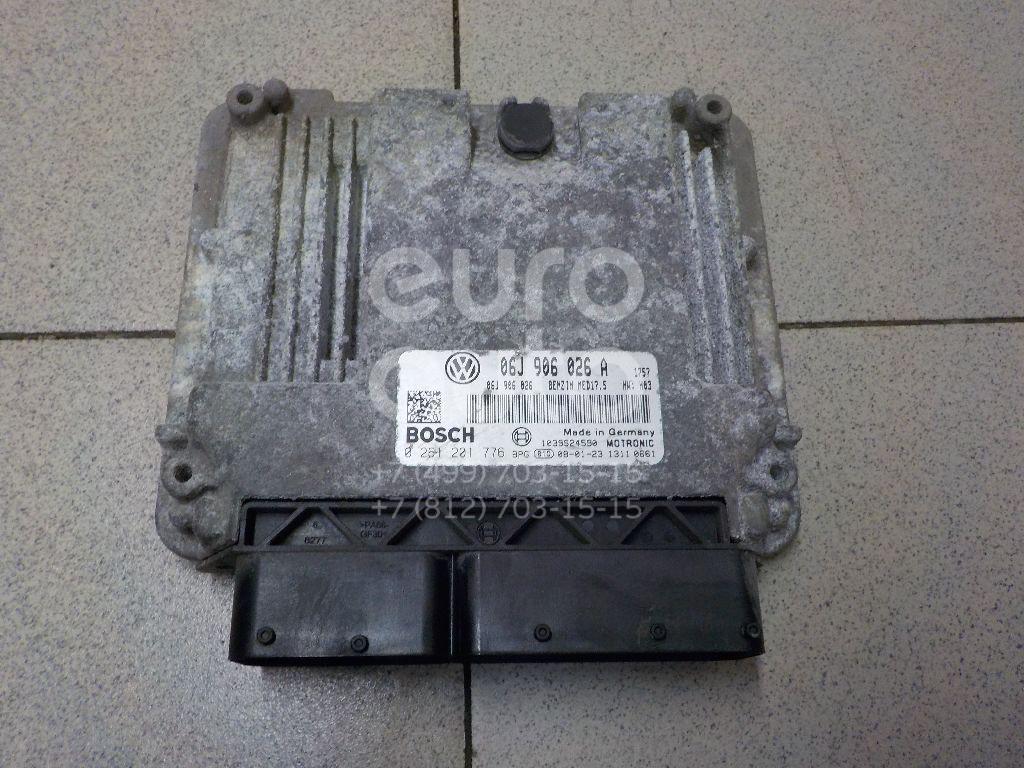 Купить Блок управления двигателем VW Passat [B6] 2005-2010; (06J906026A)