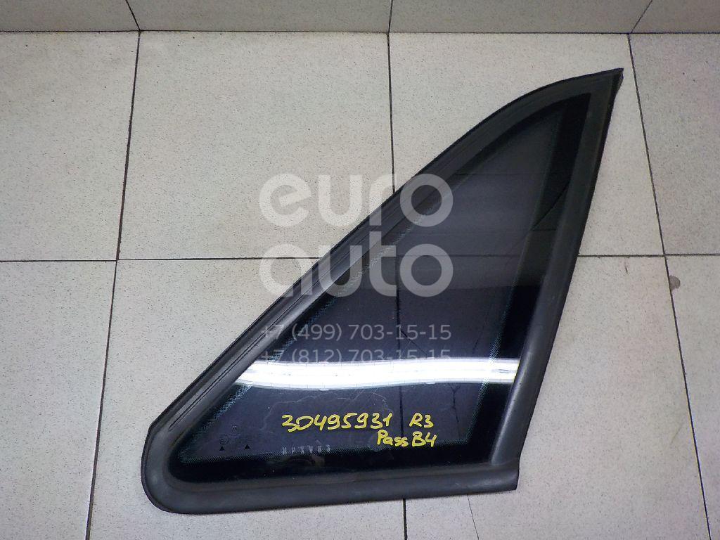 Купить Стекло кузовное глухое правое VW Passat [B4] 1994-1996; (3A5845298B)