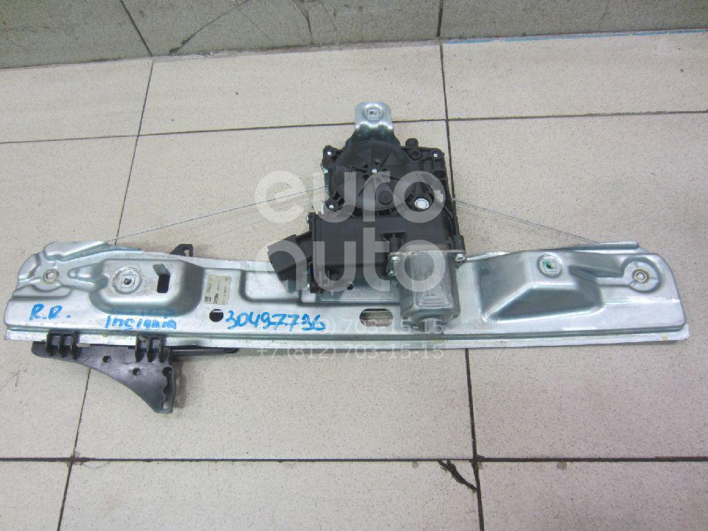 Стеклоподъемник электр. задний правый Opel Insignia 2008-2017; (20952724)  - купить со скидкой