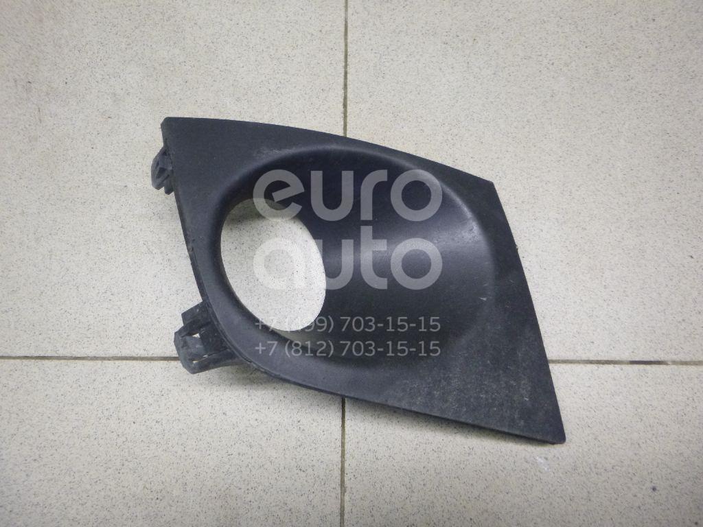 Купить Рамка противотуманной фары правой Nissan Tiida (C11) 2007-2014; (62256EM30B)
