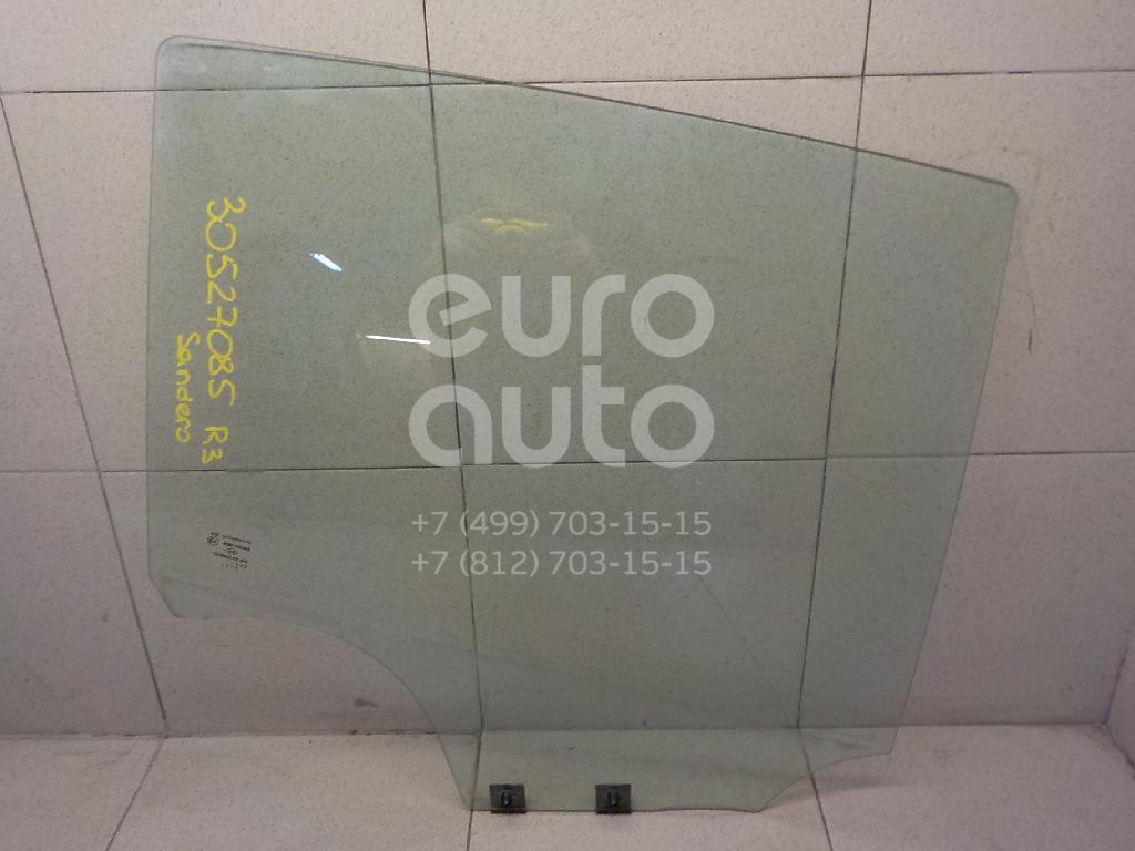Купить Стекло двери задней правой Renault Sandero 2009-2014; (823007481R)
