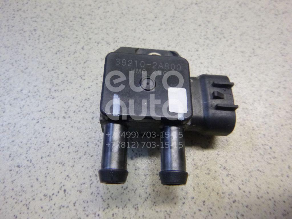 Купить Датчик давления выхлопных газов Hyundai Santa Fe (CM) 2006-2012; (392102A800)