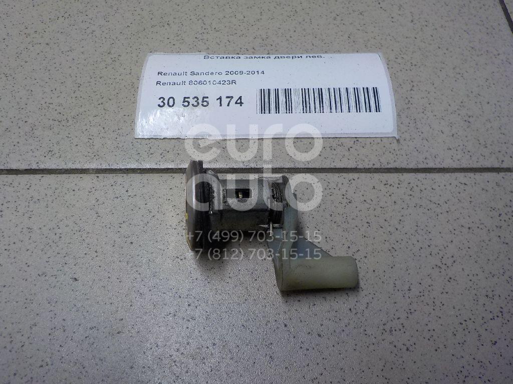 Купить Вставка замка двери лев. Renault Sandero 2009-2014; (806010423R)
