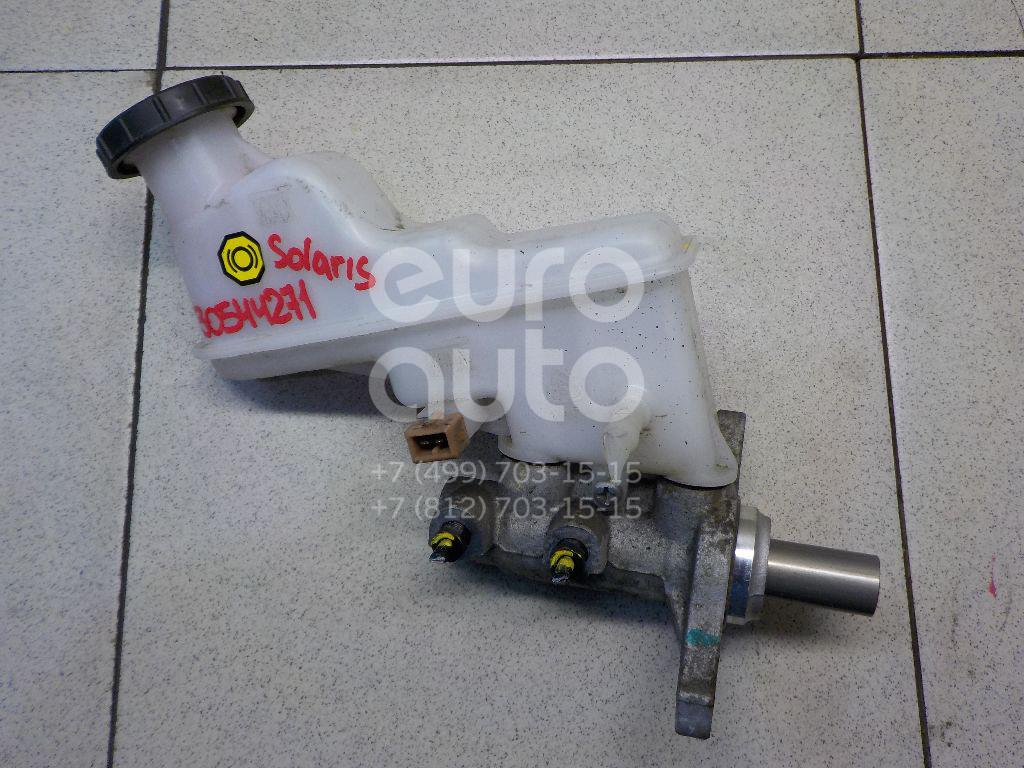 Купить Цилиндр тормозной главный Hyundai Solaris 2010-2017; (585104L150)
