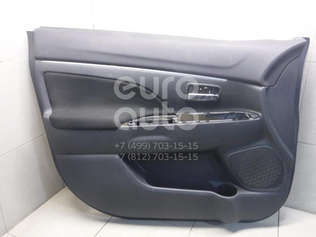 Купить Обшивка двери передней левой Mitsubishi ASX 2010-2016; (7221B203XD)