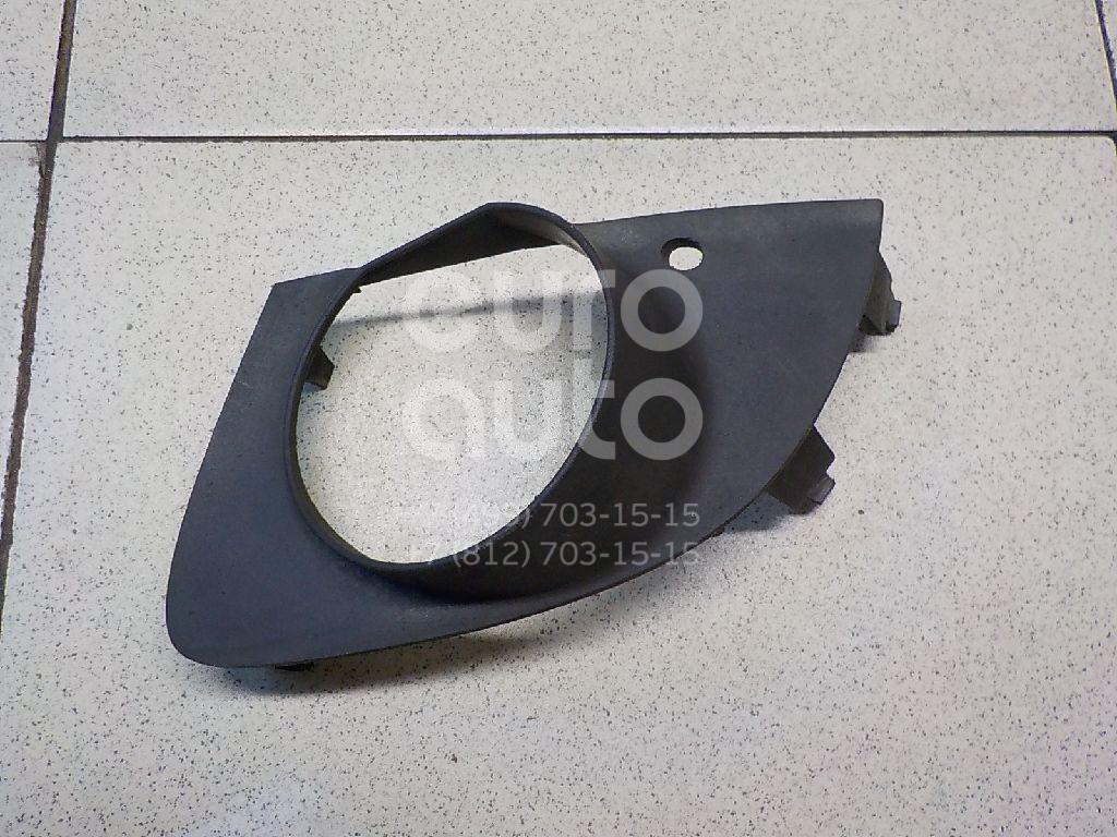 Рамка противотуманной фары левой BMW 7-серия E65/E66 2001-2008; (51117142179)  - купить со скидкой