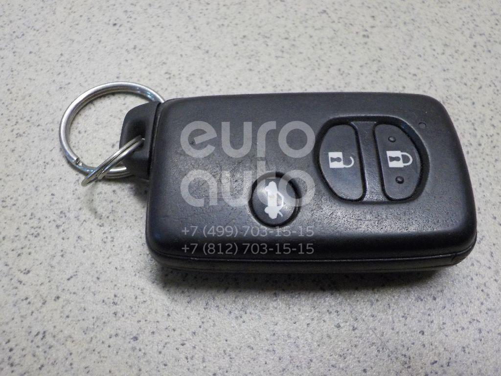 Купить Ключ зажигания Toyota Avensis III 2009-; (8990405011)