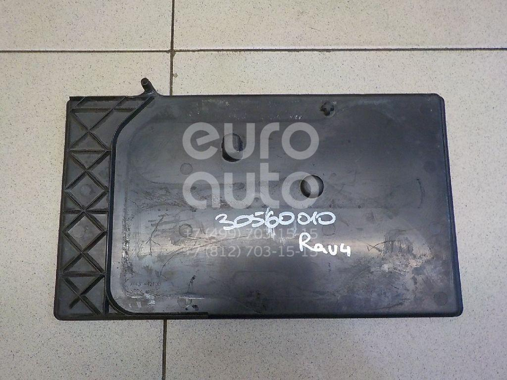 Купить Крепление АКБ (корпус/подставка) Toyota RAV 4 2006-2013; (7443142100)
