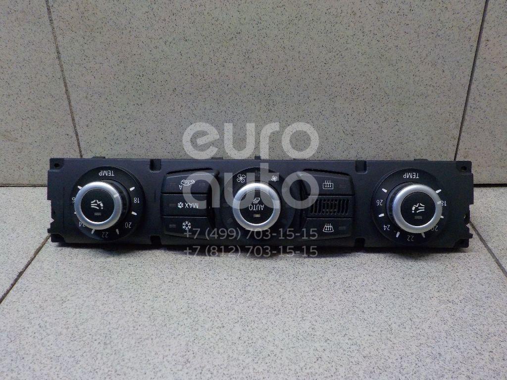 Купить Блок управления климатической установкой BMW 5-серия E60/E61 2003-2009; (64119177714)