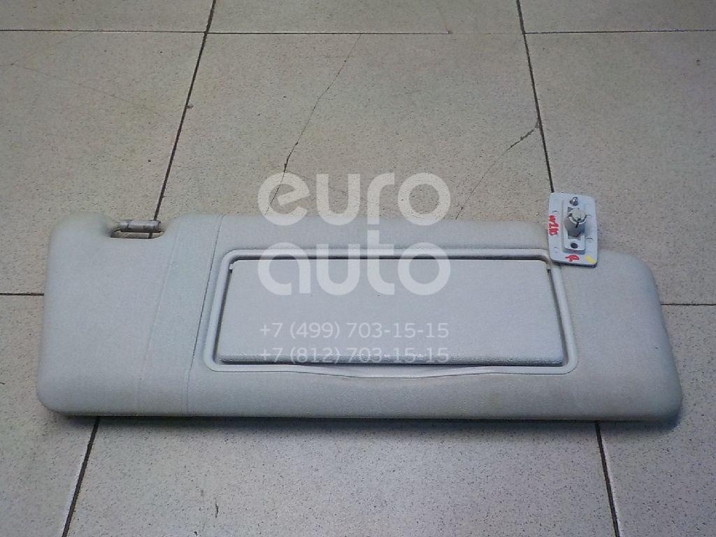 Купить Козырек солнцезащитный (внутри) Mercedes Benz W210 E-Klasse 1995-2000; (2108100810)