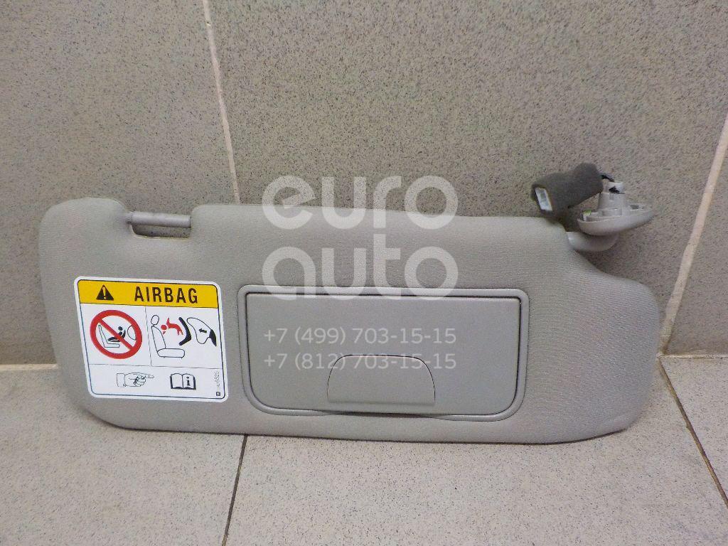 Купить Козырек солнцезащитный (внутри) Chevrolet Captiva (C140) 2011-2016; (95422010)