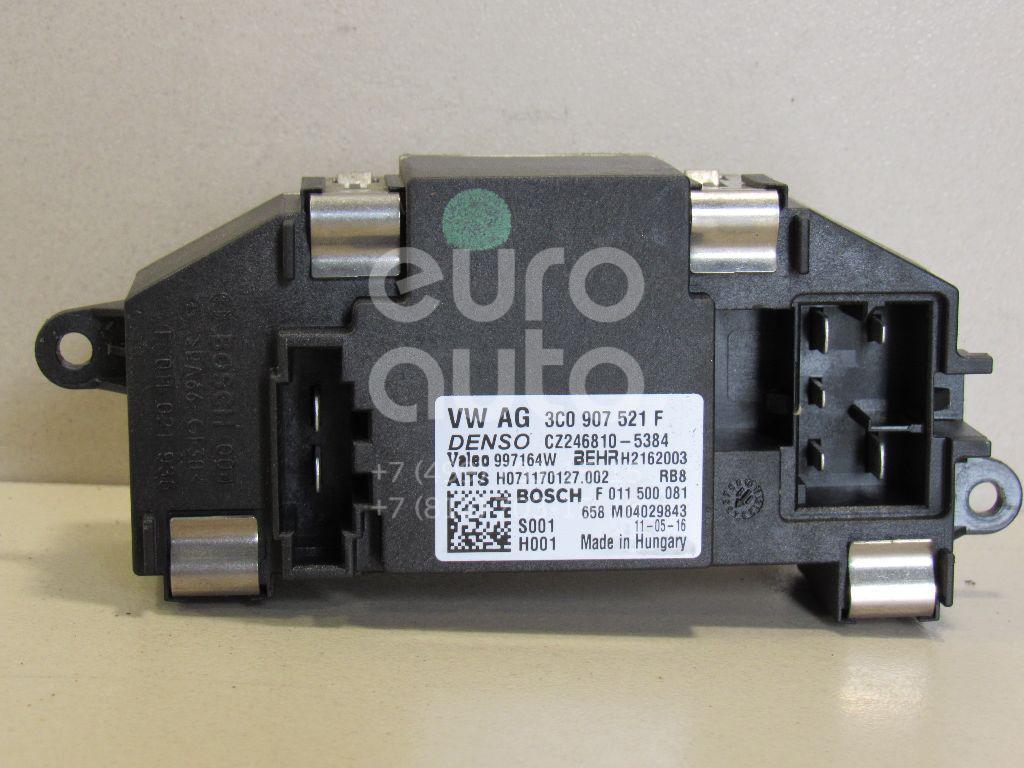 Купить Резистор отопителя VW Passat CC 2008-; (3C0907521F)
