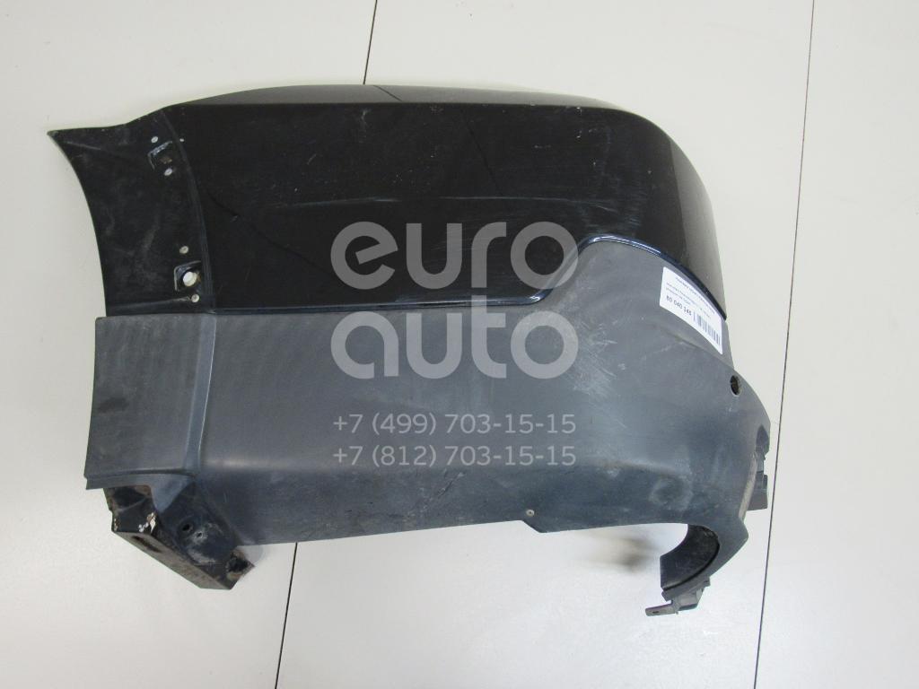 Купить Накладка заднего бампера левая Mitsubishi Pajero/Montero IV (V8, V9) 2007-; (6410A291)