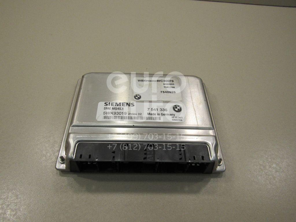 Купить Блок управления двигателем BMW X3 E83 2004-2010; (12147541336)