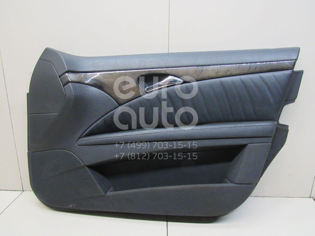 Купить Обшивка двери передней правой Mercedes Benz W211 E-Klasse 2002-2009; (21172074639C52)