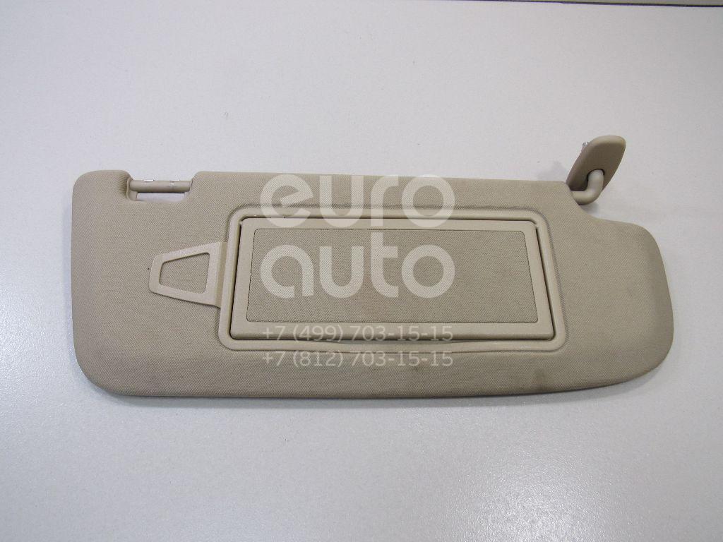 Купить Козырек солнцезащитный (внутри) Mercedes Benz W221 2005-2013; (22181012108L48)