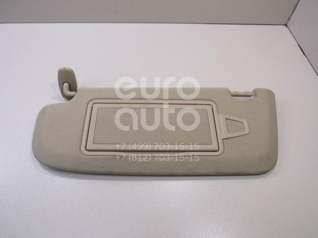 Купить Козырек солнцезащитный (внутри) Mercedes Benz W221 2005-2013; (22181011108L48)