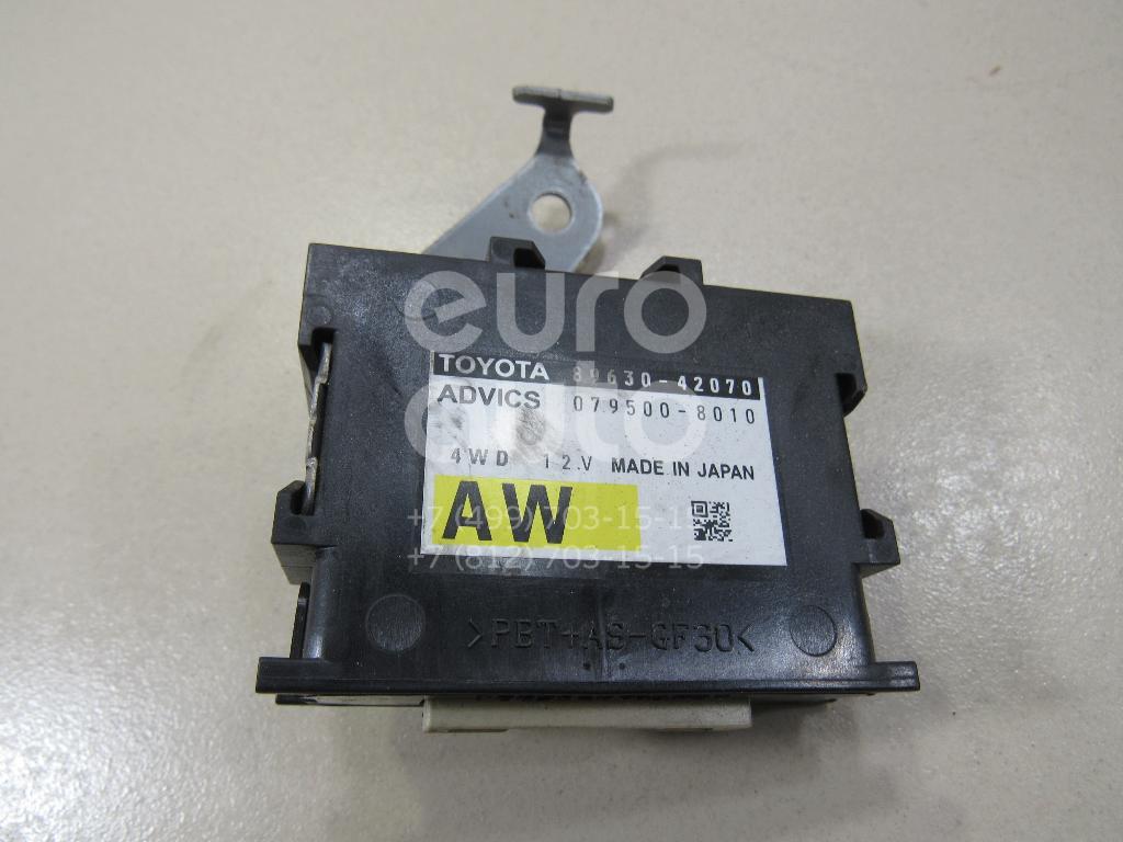 Купить Блок электронный Toyota RAV 4 2013-; (8963042080)