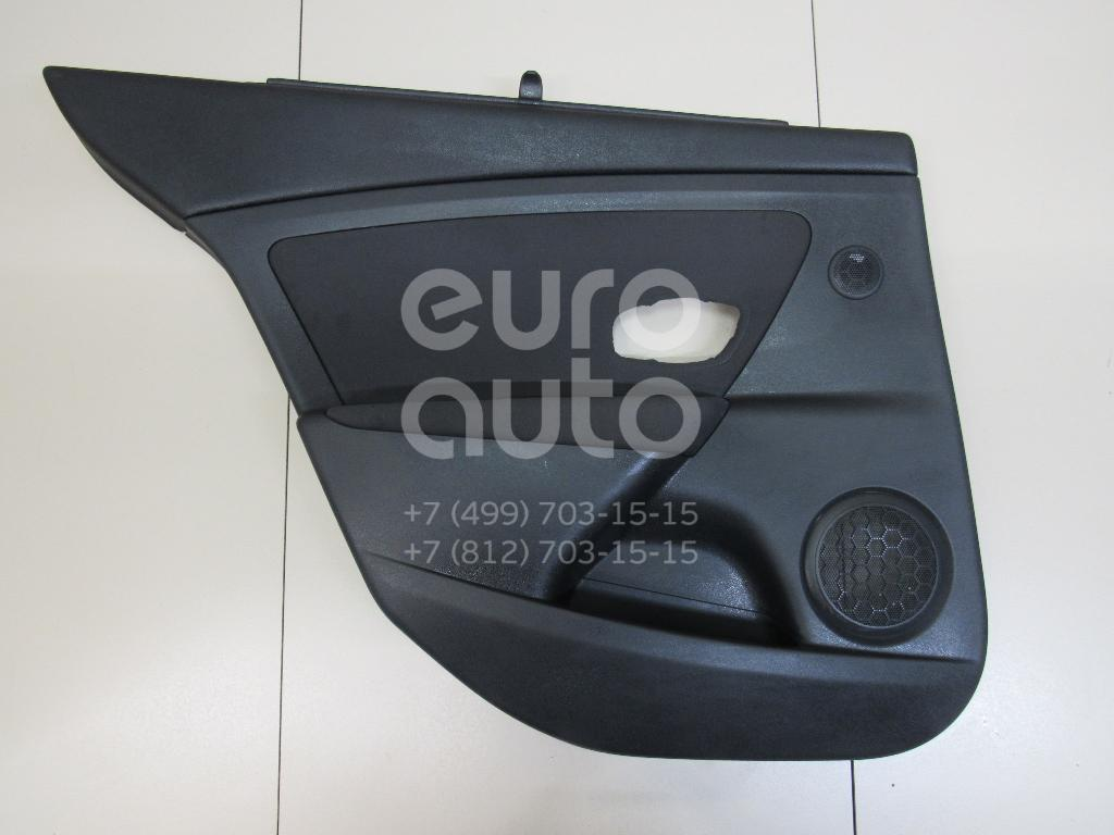 Купить Обшивка двери задней левой Renault Fluence 2010-2017; (829A10206R)