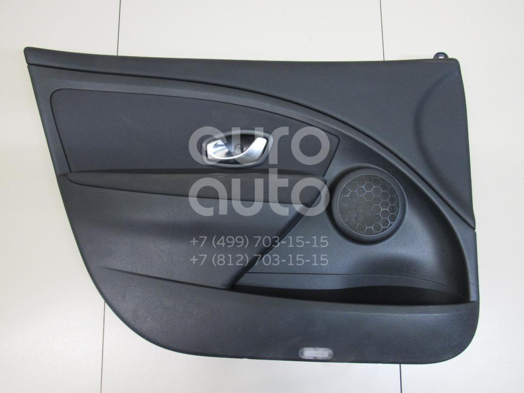 Купить Обшивка двери передней левой Renault Fluence 2010-; (809010481R)
