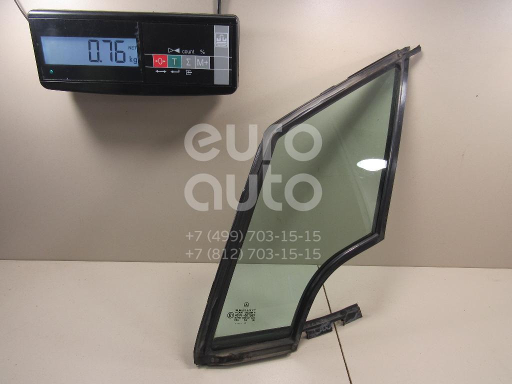 Купить Стекло двери передней левой (форточка) Mercedes Benz A140/160 W168 1997-2004; (1687250109)