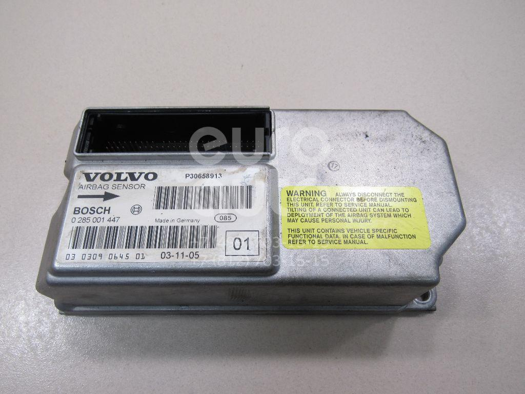 Блок управления AIR BAG Volvo XC90 2002-2015; (0285001447)  - купить со скидкой