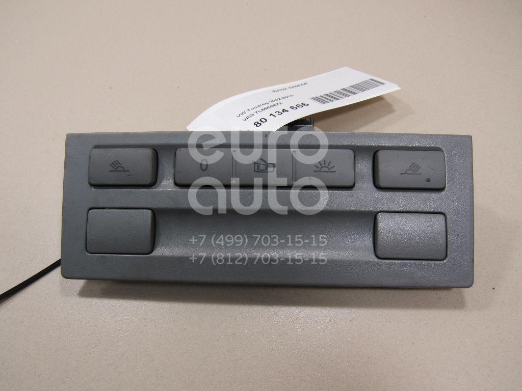 Купить Блок кнопок VW Touareg 2002-2010; (7L6959672)