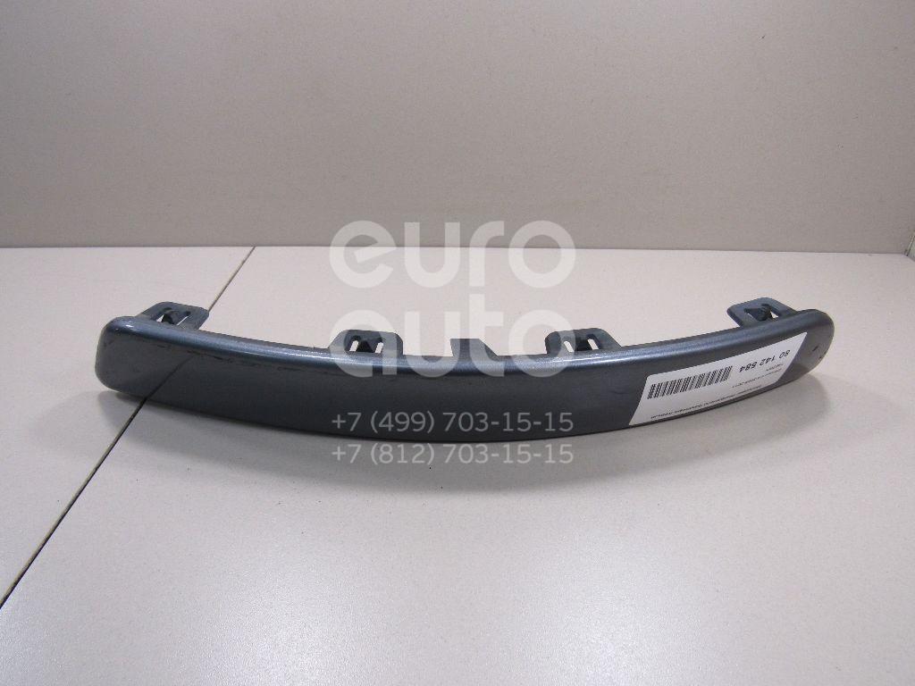 Купить Молдинг переднего бампера левый Citroen C4 2005-2011; (7452WY)