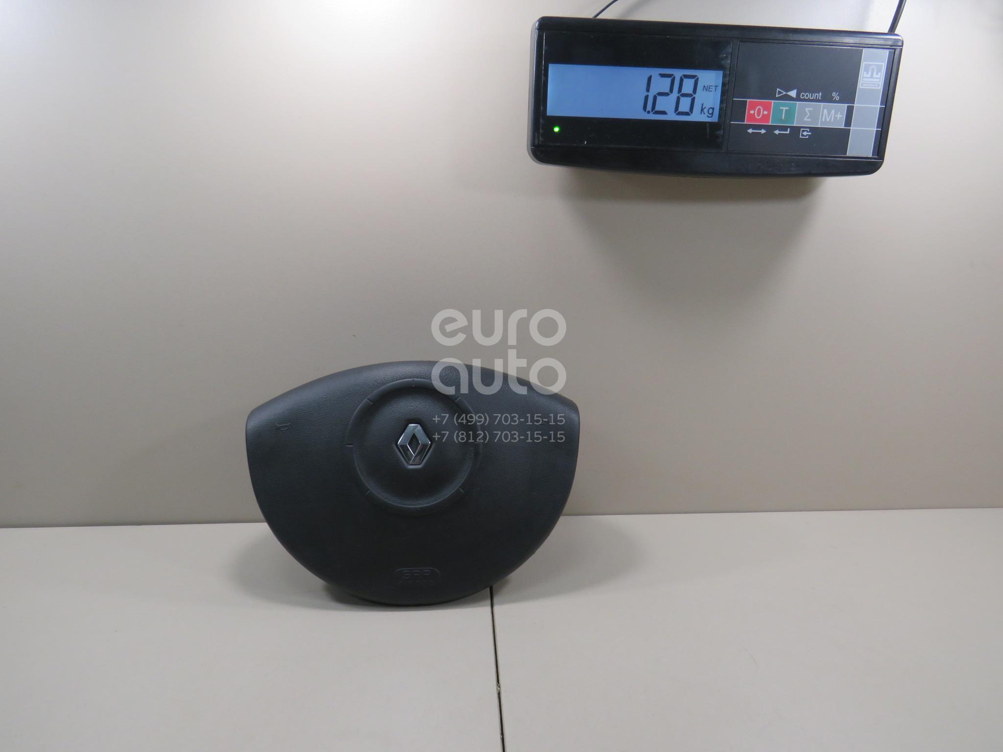 Купить Подушка безопасности в рулевое колесо Renault Megane II 2003-2009; (8200414934)
