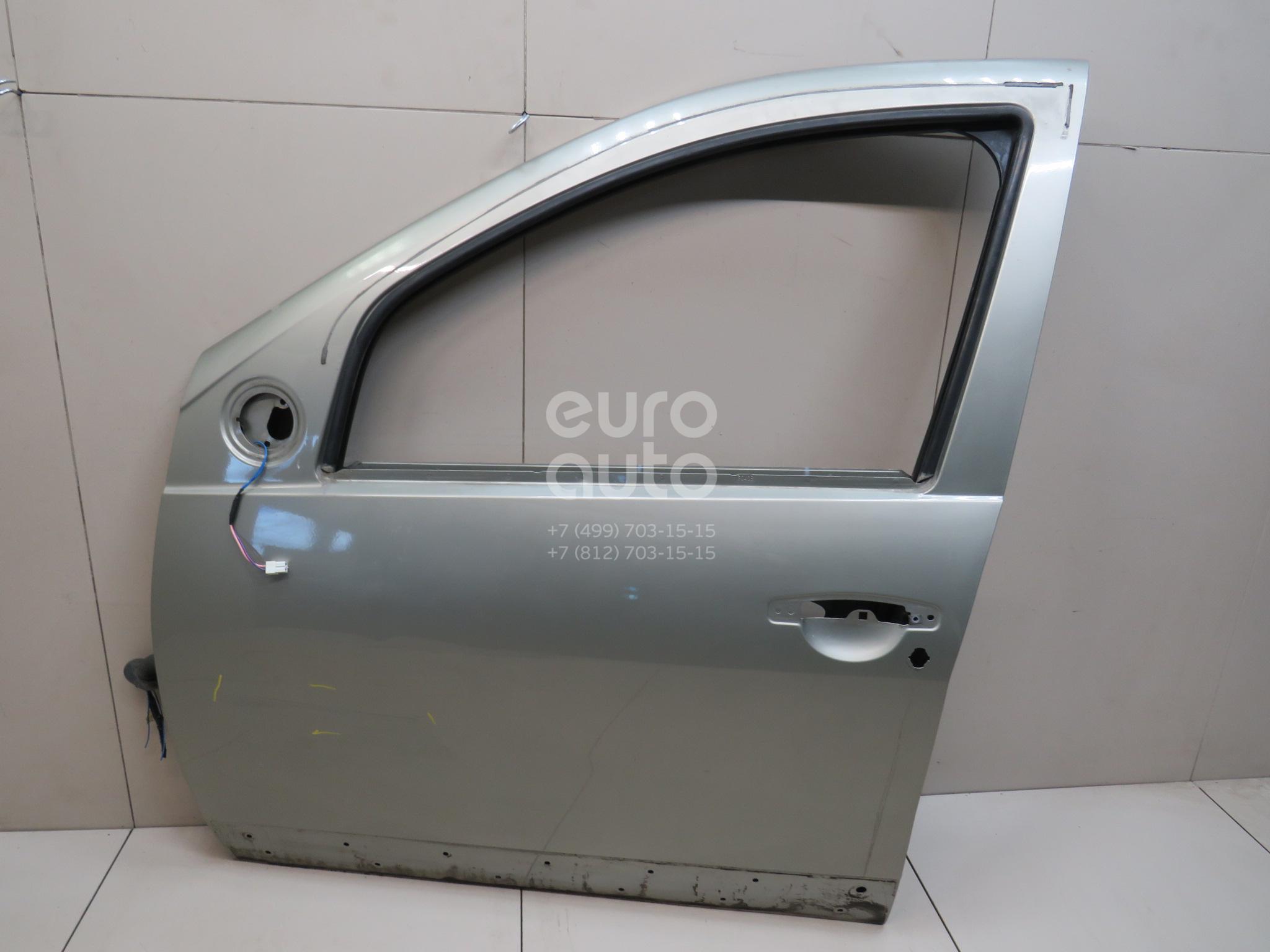 Купить Дверь передняя левая Renault Sandero 2009-2014; (801011499R)