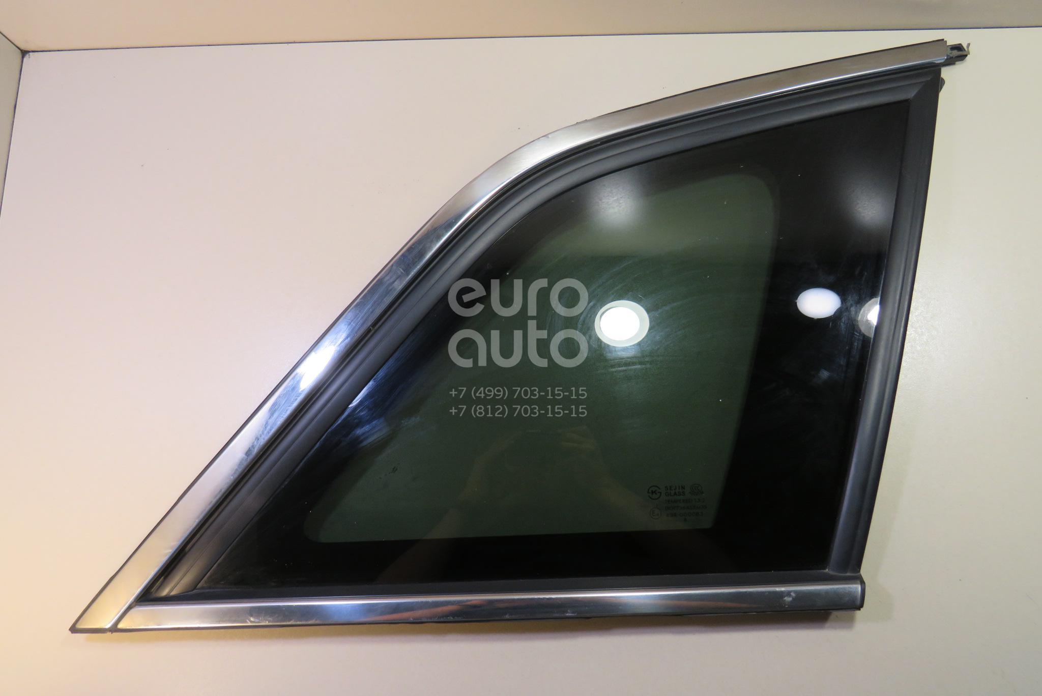 Купить Стекло кузовное глухое правое Opel Antara 2007-2015; (96866042)