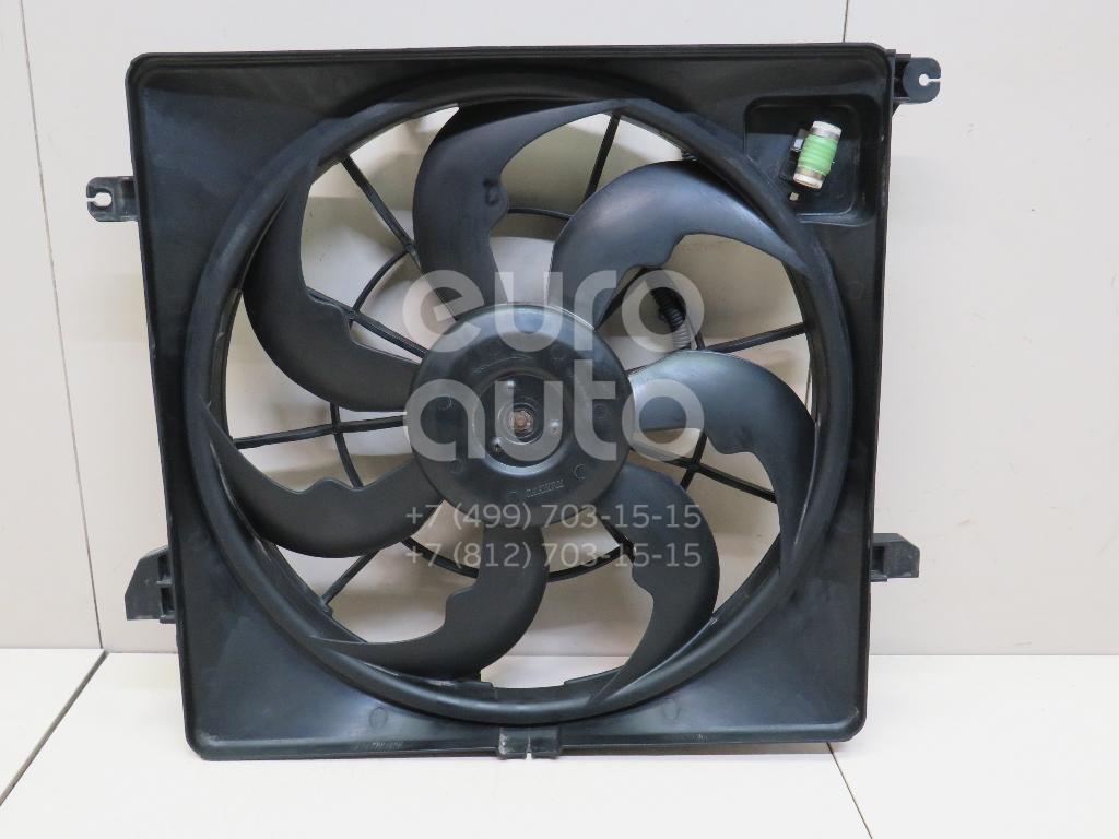 Вентилятор радиатора Kia Sorento Prime 2015-; (25380C5000)