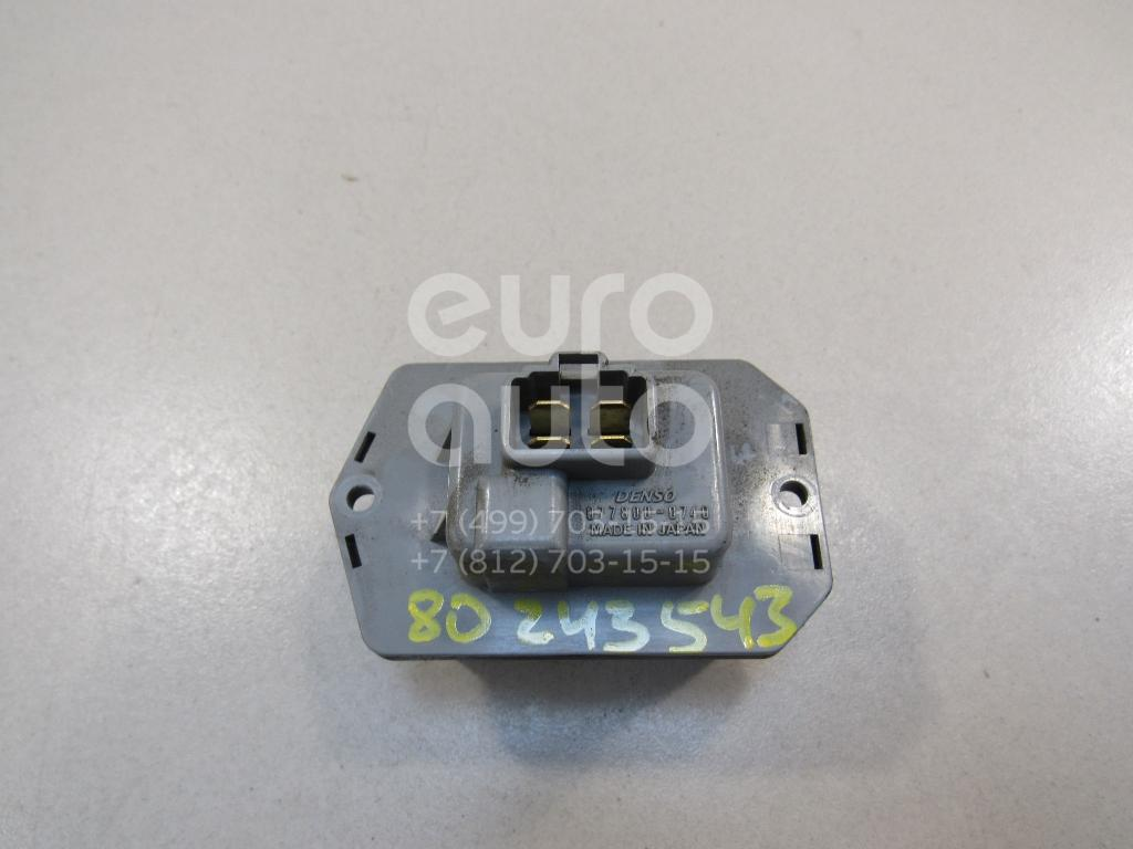 Резистор отопителя Land Rover Discovery III 2004-2009; (JGN500010)