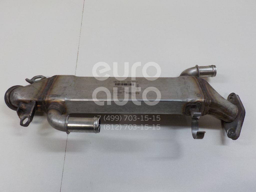 Радиатор системы EGR Mercedes Benz W163 M-Klasse (ML) 1998-2004; (6121420077)