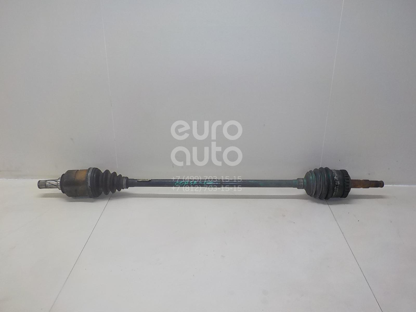 Купить Полуось передняя правая Opel Corsa C 2000-2006; (93190102)