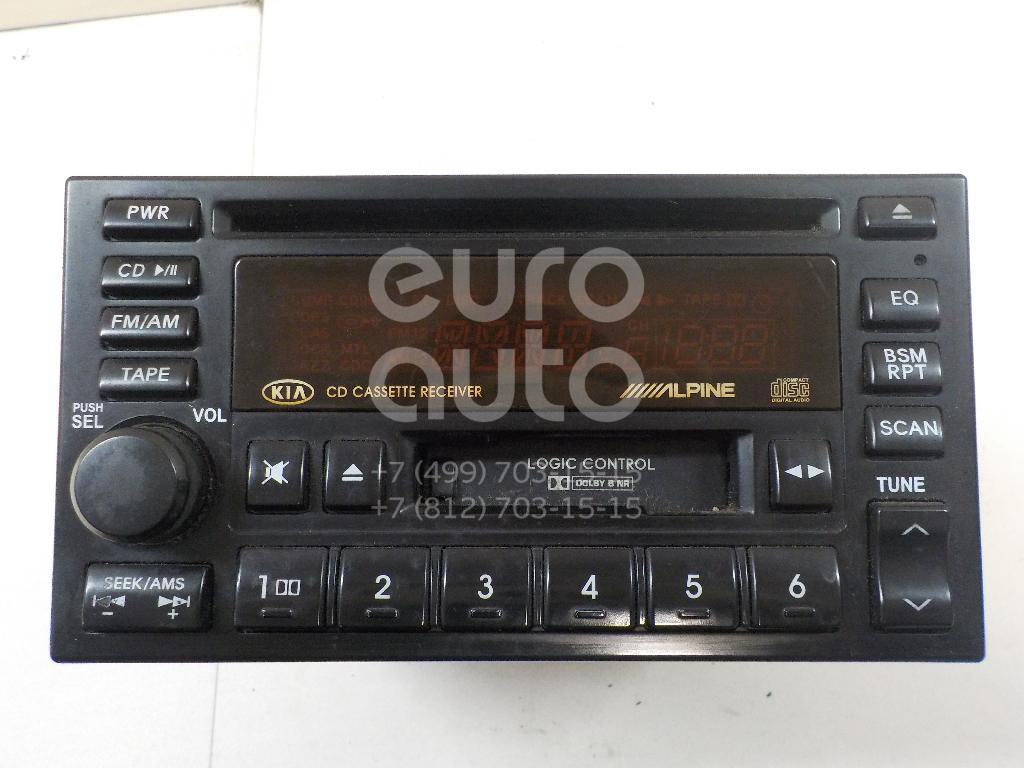 Купить Магнитола Kia Sorento 2002-2009; (961503E000)