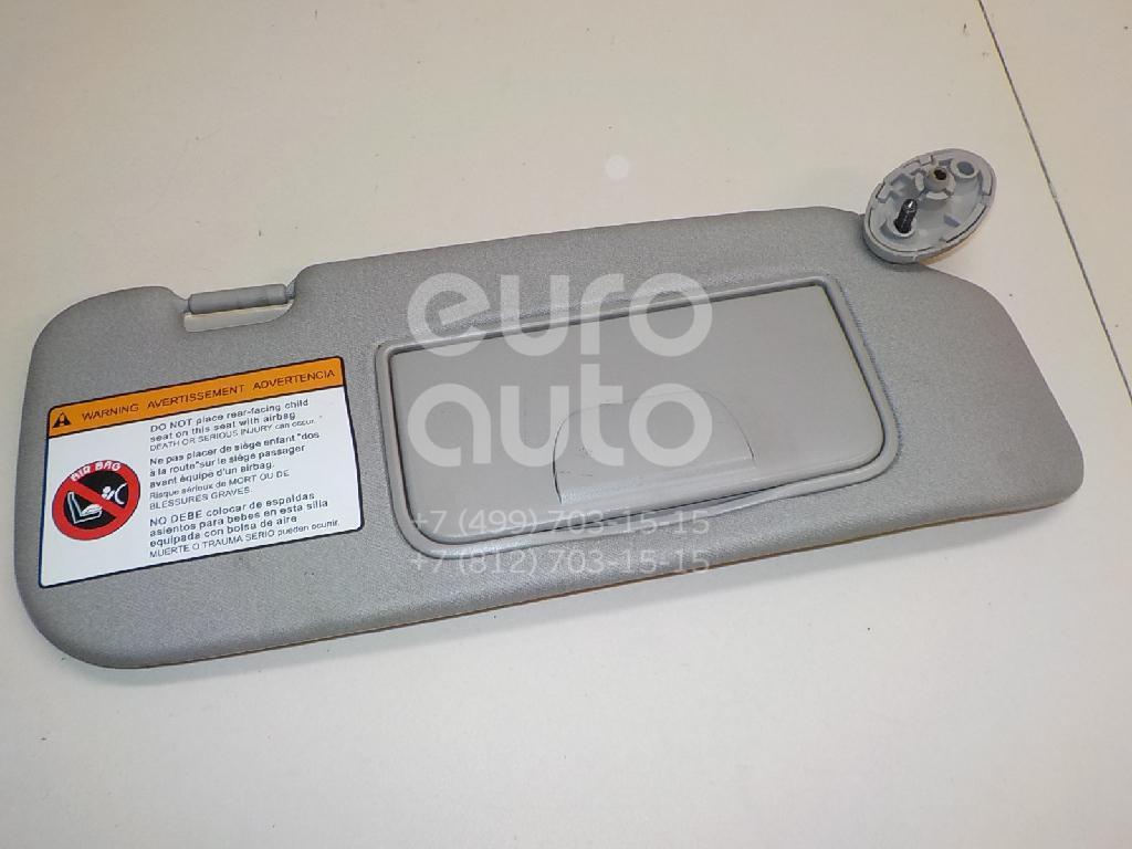 Купить Козырек солнцезащитный (внутри) Chevrolet Captiva (C100) 2006-2010; (96813627)