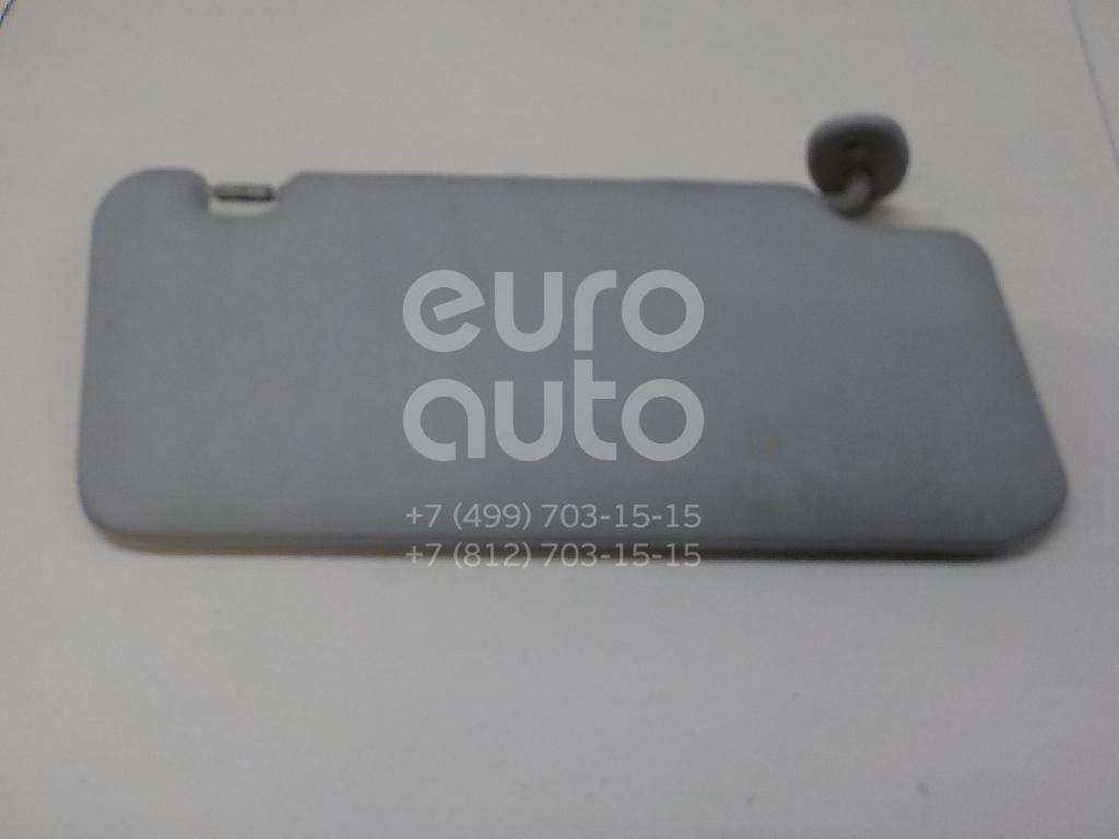 Козырек солнцезащитный (внутри) Suzuki Grand Vitara 2005-2015; (8480265J40J0T)
