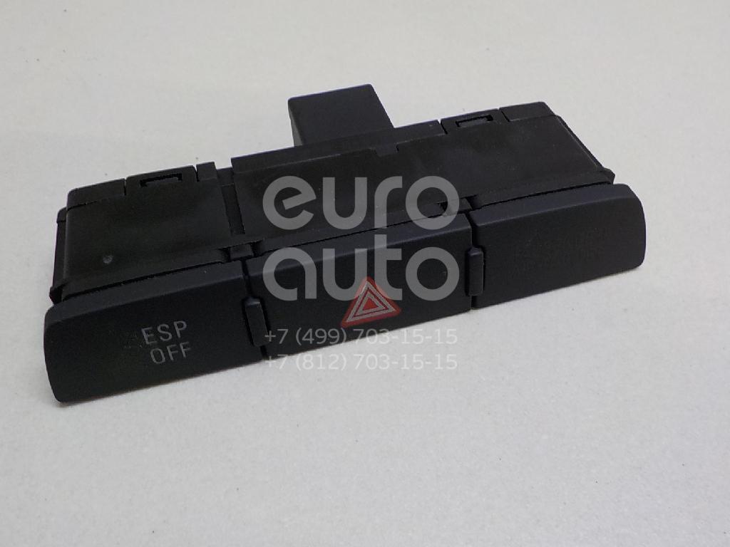 Купить Кнопка аварийной сигнализации Audi Q7 [4L] 2005-2015; (4L1927137A5PR)