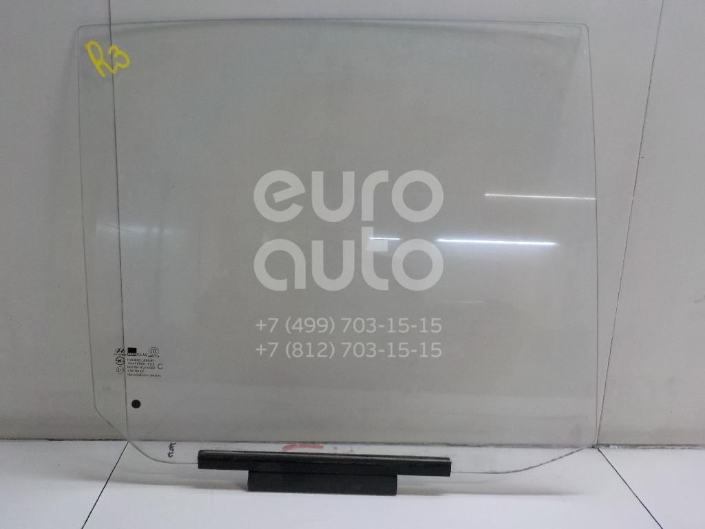 Стекло двери задней правой Hyundai Getz 2002-2010; (834201C000)  - купить со скидкой
