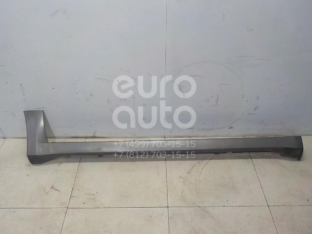 Накладка на порог (наружная) Mitsubishi Outlander (CU) 2001-2008; (MN133398)