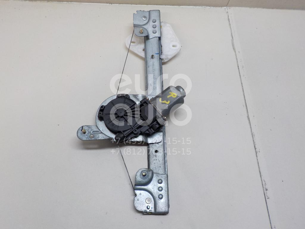 Стеклоподъемник электр. задний правый Renault Logan 2005-2014; (8200901105)  - купить со скидкой