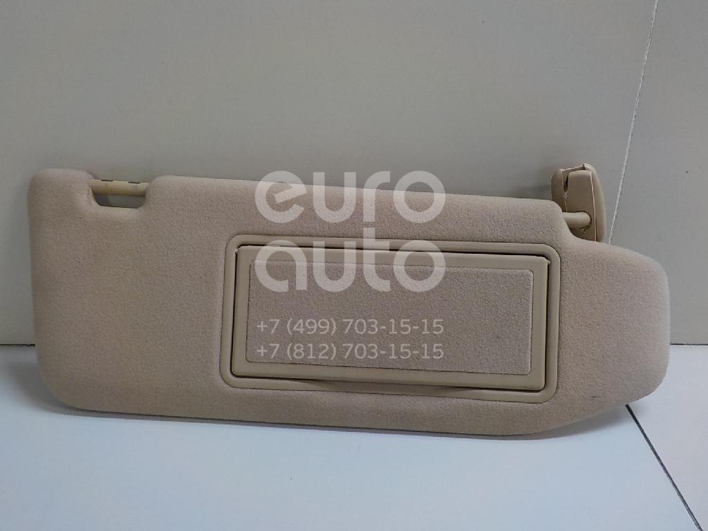 Купить Козырек солнцезащитный (внутри) Mercedes Benz W220 1998-2005; (22081002101A21)
