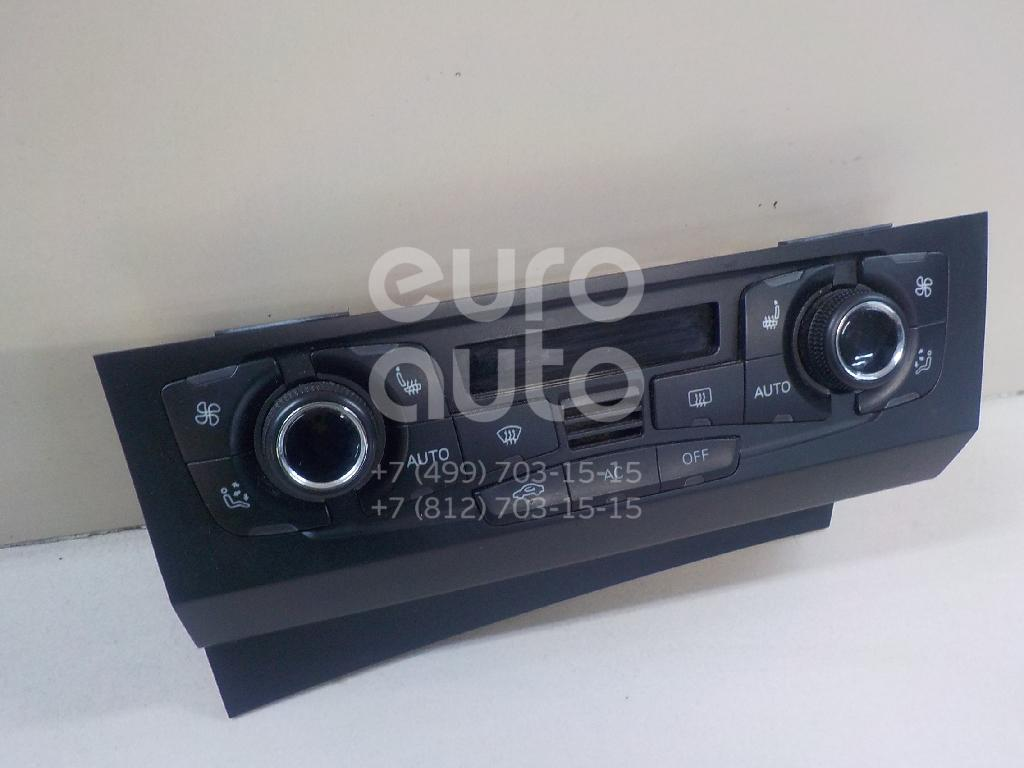 Купить Блок управления климатической установкой Audi A4 [B8] 2007-2015; (8T1820043AK)