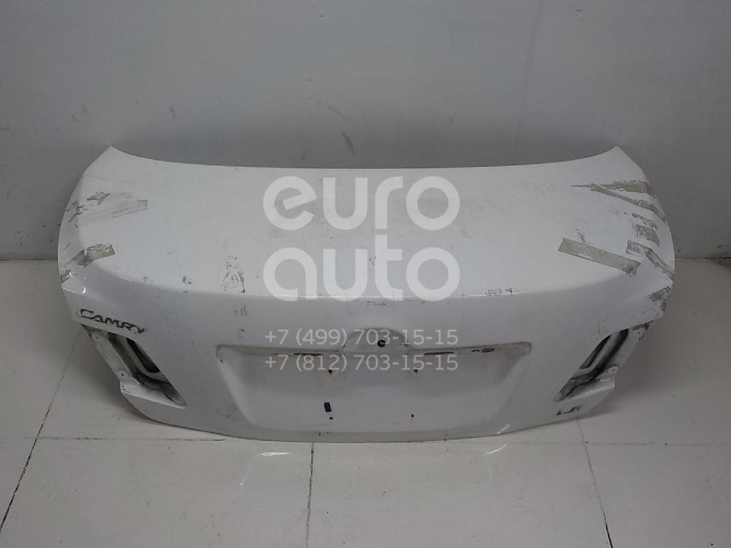 Крышка багажника Toyota Camry V40 2006-2011; (6440106280)